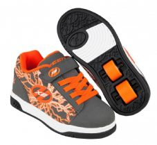 Heelys X2 Dual Up Charcoal/Orange/Electricity